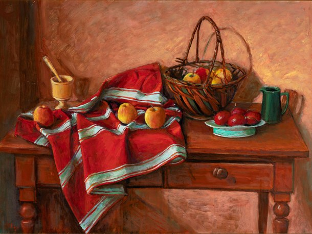 Margaret Olley Apples on a Table
