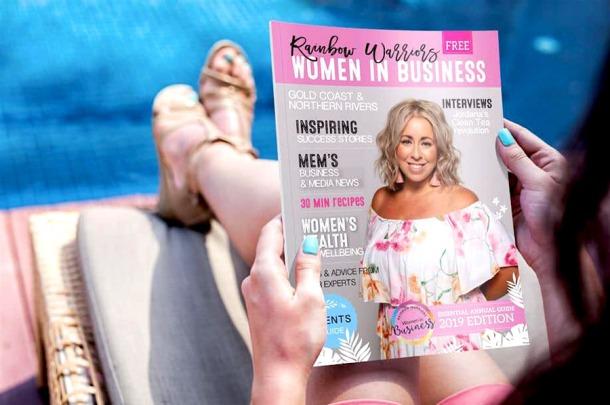 Rainbow Warriors Women in Business magazine