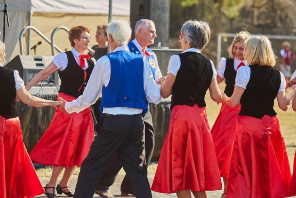 Scandinavian Festival folk dancing
