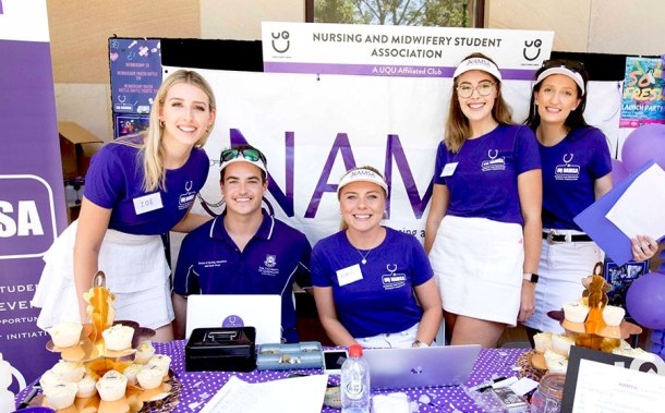 Nursing and Midwifery Student Association UQ