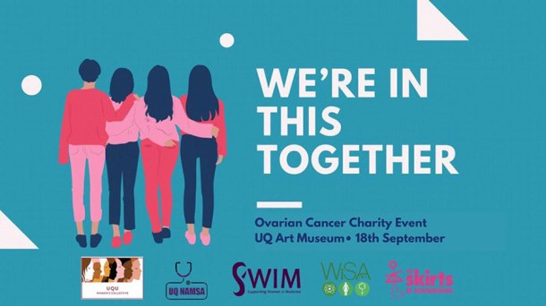 We're In This Together ovarian cancer charity event