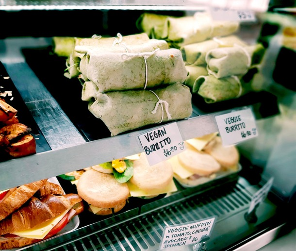 Vegan food options