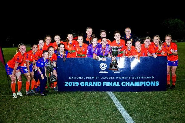 Queensland Lions FC 2019 grand final