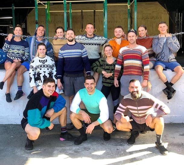 Longtime BYS supporter PT Dave Kramer and the CrossFit Kova crew