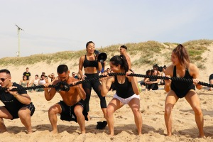 Personal trainer Elly Candi boot camp