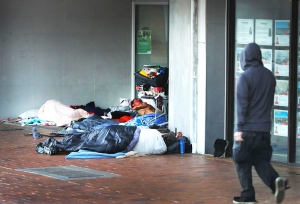 Homeless in Southport