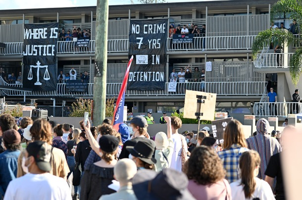 Kangaroo Point protests