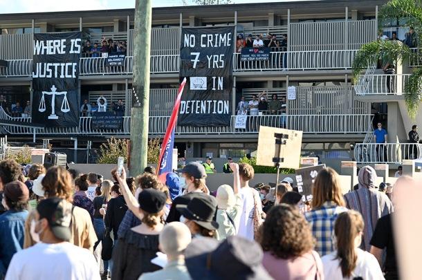 Kangaroo Point protests