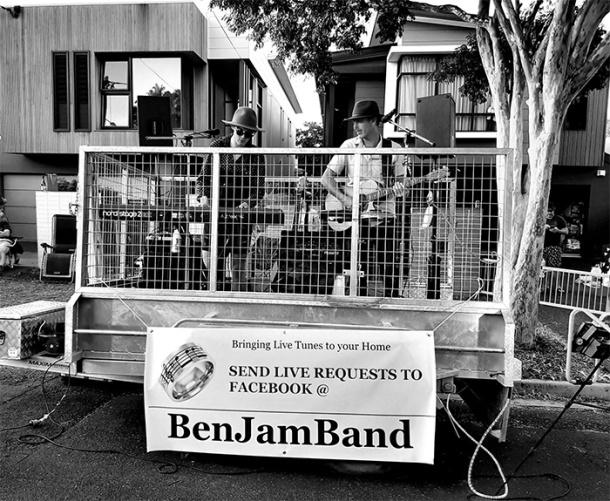 BenJamBand Liam Clarke and Benjamin Von Einam