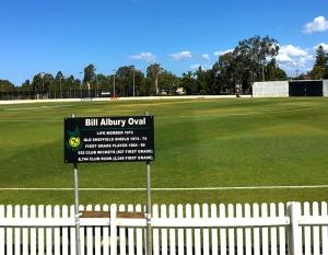 Bill Albury Oval