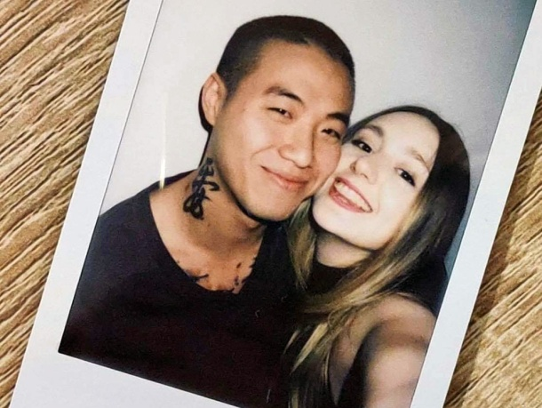 Long distance couple Emily Joy and Ace Chen
