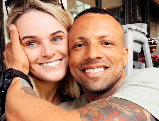 Long distance couple Hannah Varnham and Juan José
