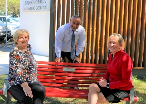 Tom Tate Red Bench Mudgeeraba