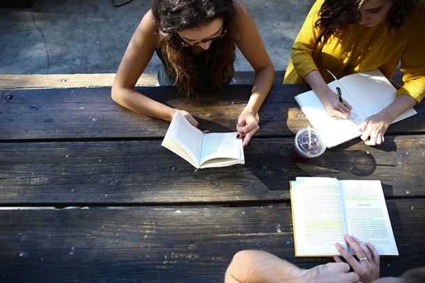 Students studying Courtesy Alexia Brown/Unsplash