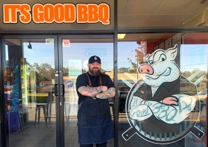 It's Good BBQ's new storefront in Daisy Hill
