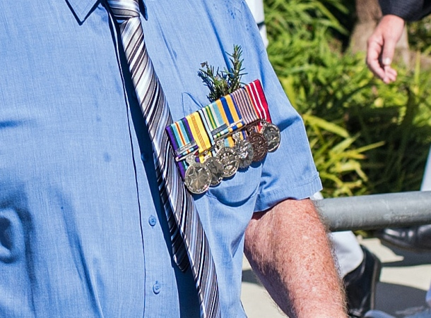 Anzac Day medals