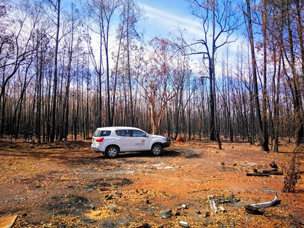 CRRMH program helps people in bushfire zones